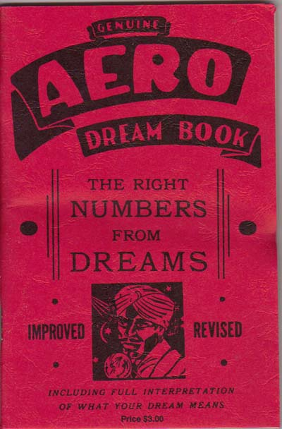 Aero Dream Book : Sneaky Pete!, Your #1 Source of Lucky