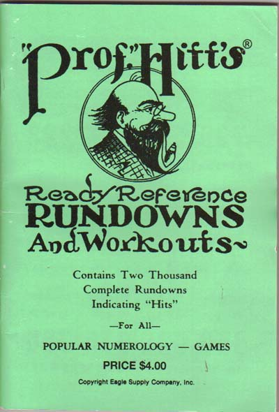 Prof Hitt's Rundowns