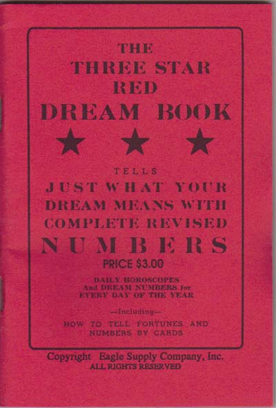 The Three Star Red Dream Book